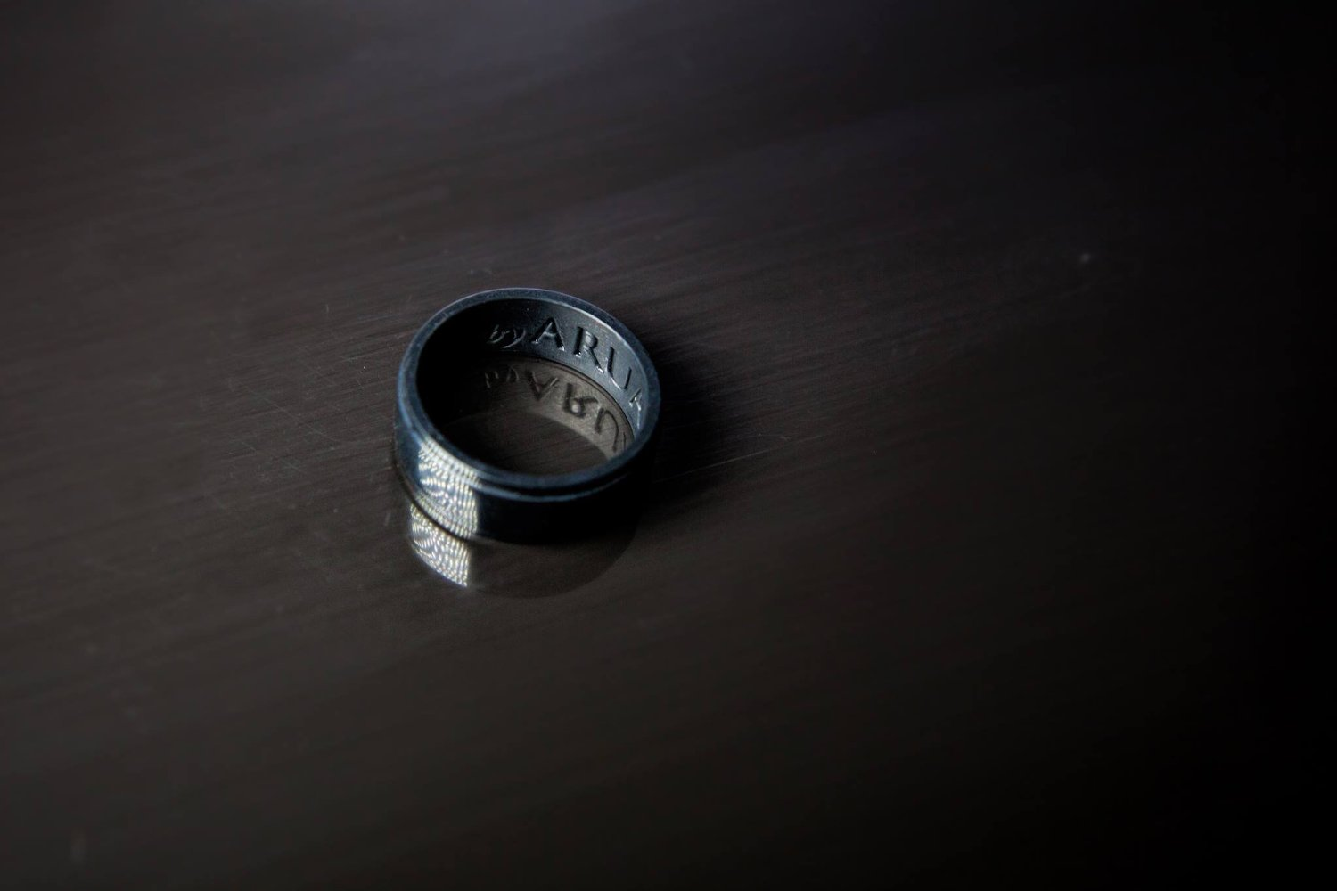 Black Silicone Rings for Men